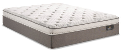 Serta Perfect Sleeper iCollection Mandalay Super Pillowtop Queen Mattress|Matelas à plateau-coussin épais Mandalay iCollectionMD Perfect SleeperMD de Serta pour grand lit|MNDLAYQM