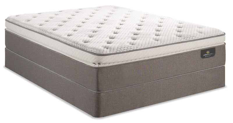 Serta Perfect Sleeper iCollection Mandalay Super Pillowtop Queen Mattress Set|Ensemble à plateau-coussin épais Mandalay iCollectionMD Perfect SleeperMD de Serta pour grand lit