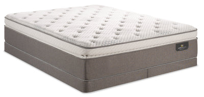 Serta Perfect Sleeper iCollection Mandalay Super Pillowtop Low-Profile Split Queen Mattress Set|Ensemble à plateau-coussin épais à profil bas divisé Mandalay iCollection Perfect Sleeper grand lit|MNDLLSQP