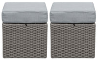 Morris Small Patio Ottoman, Set of 2