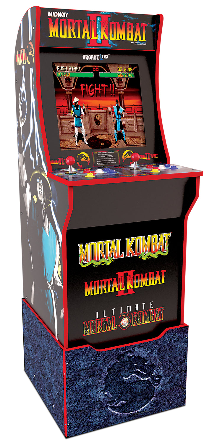 Arcade1Up Mortal Kombat™ Arcade Cabinet with Riser | Borne de jeu Arcade1Up Mortal KombatMD avec plateforme