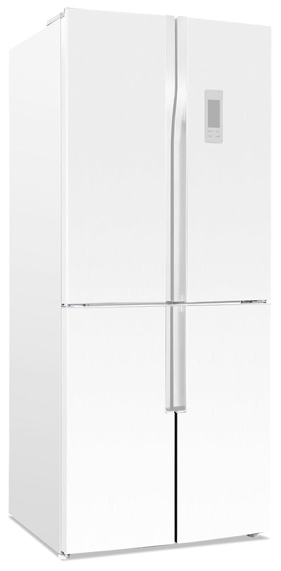 Brada 15 Cu. Ft. 4-Door Refrigerator - MRF-430W - Refrigerator in White