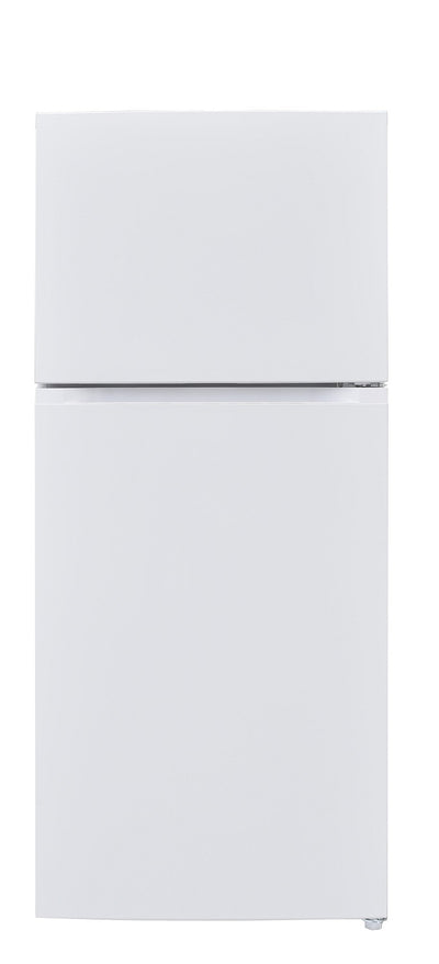 Brada 14.5 Cu. Ft. Top-Freezer Refrigerator - MRF-435WW - Refrigerator in White