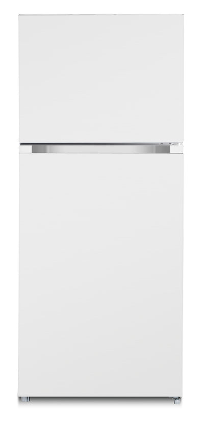 Brada 18 Cu. Ft. Top-Freezer Refrigerator - MRF-541WS - Refrigerator in White