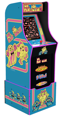 Arcade1Up Ms. Pac-Man™ Arcade Cabinet with Riser