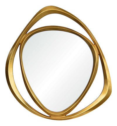 "Goldie Decorative Mirror - 39.5"" x 42""