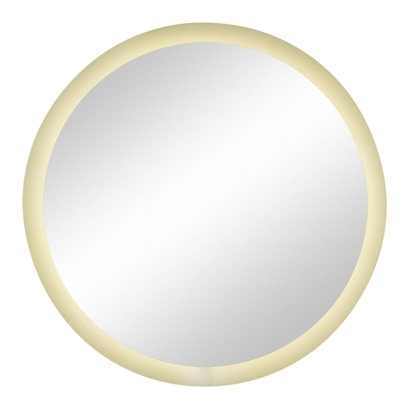 "Mansel Decorative Mirror with LED backlight - 36"" x 36""