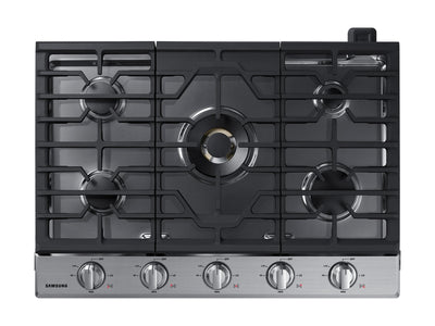 "Samsung 30"" 5-Burner Gas Cooktop with Bluetooth - NA30N7755TS/AA