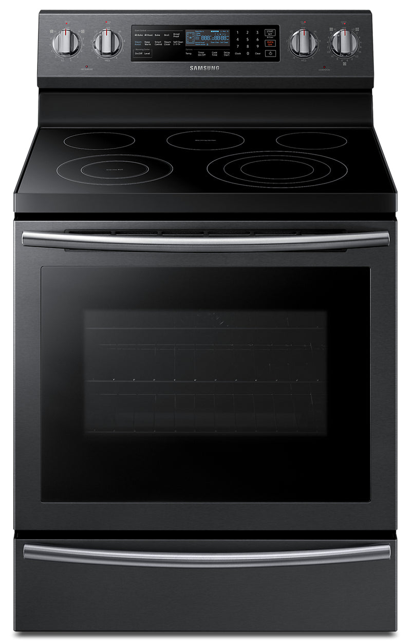 Samsung 5.9 Cu. Ft. Freestanding Electric Range with True Convection – NE59N6650WG/AC|Cuisinière électrique amovible Samsung de 5,9 pi3 avec convection véritable – NE59N6650WG/AC