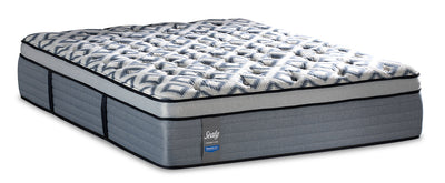 Sealy Posturepedic Crown Luxe Newbury Port Eurotop Twin XL Mattress|Matelas à Euro-plateau Newbury Port Posturepedic Crown Luxe de Sealy pour lit simple très long|NEWPTXTM