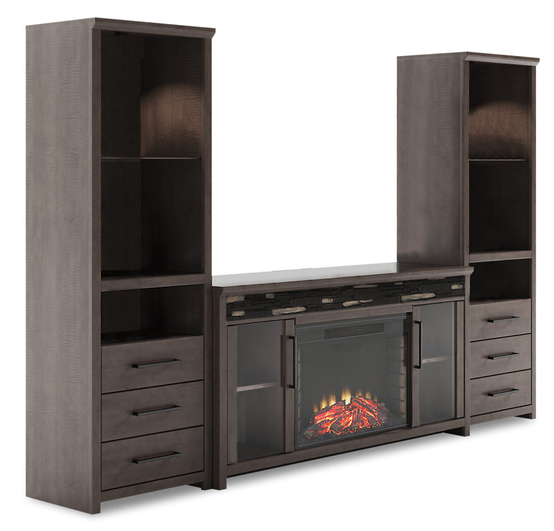 "North 4-Piece Entertainment Centre with 60"" TV Opening"