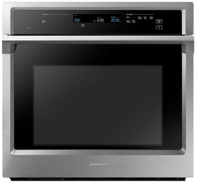 Samsung 5.1 Cu. Ft. Convection Wall Oven with Steam Bake - NV51K6650SS - Electric Wall Oven in Stainless Steel