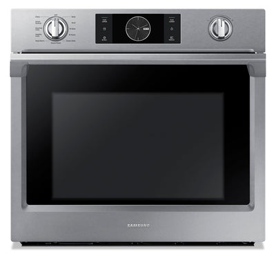 Samsung 5.1 Cu. Ft. Convection Wall Oven with Steam Bake - NV51K7770SS/AA|Four mural Samsung de 5,1 pi3 à convection avec cuisson à la vapeur - NV51K7770SS/AA|NV51K77S