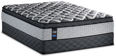 Sealy Posturepedic Proback Ocean Drive Eurotop Low-Profile Full Mattress Set|Ensemble matelas Euro-plateau profil bas Ocean Drive PosturepedicMD PROBACKMD Sealy pour lit double|OCNDRLFP