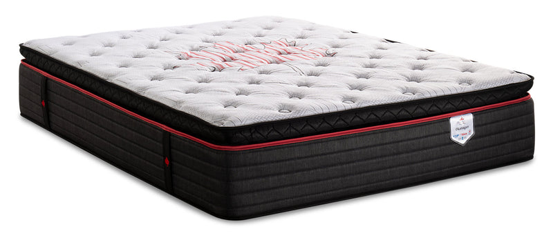 Springwall True North Chiropractic Okanagan Pillowtop Queen Mattress|Matelas à plateau-coussin True North Okanagan ChiropracticMD de Springwall pour grand lit