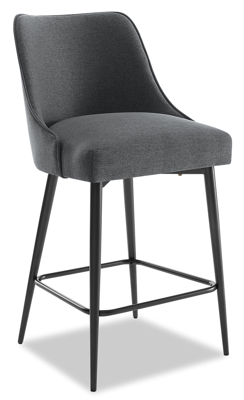 Olson Counter-Height Dining Chair - Grey - {Modern} style Dining Chair in Grey {Metal}