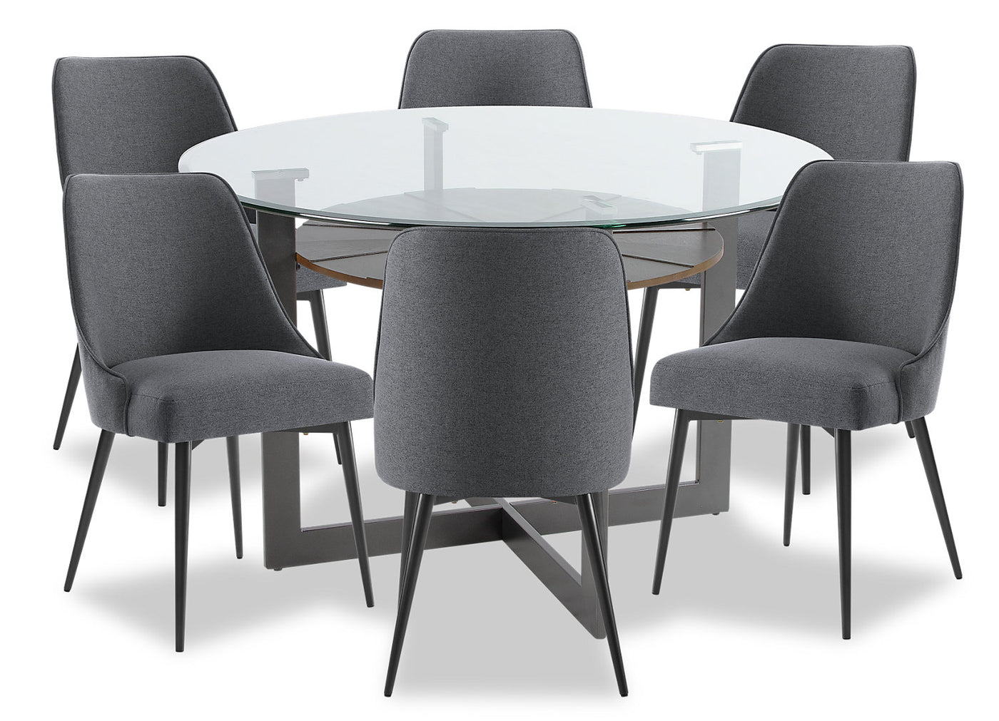 Fine Olson 7 Piece Dining Room Set Grey Ocoug Best Dining Table And Chair Ideas Images Ocougorg