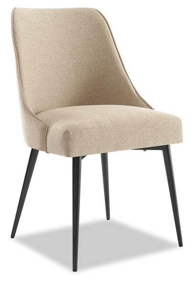 Olson Dining Chair - Taupe - {Modern} style Dining Chair in Taupe {Metal}