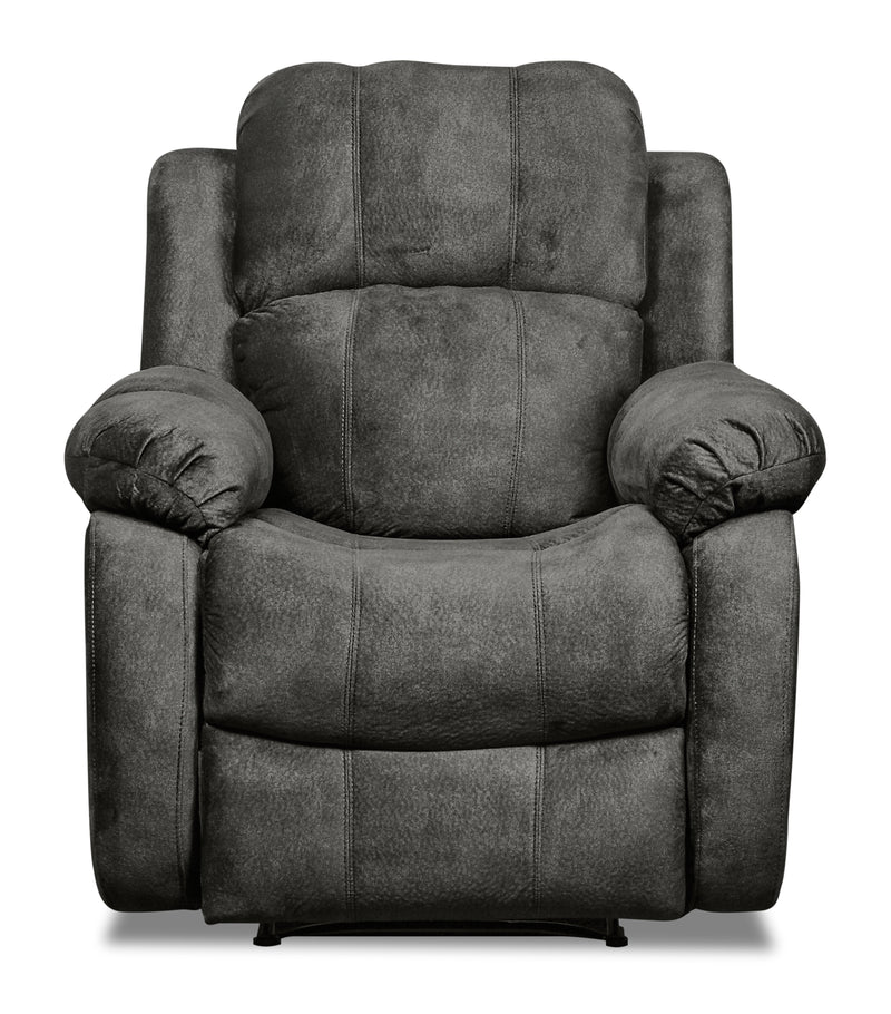 Omega Chenille Recliner - Grey