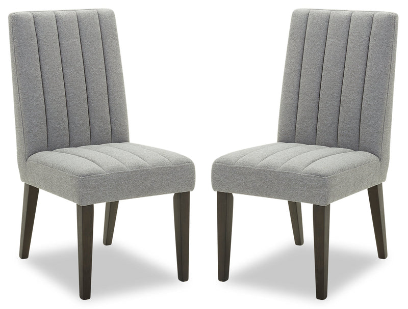 Opal Accent Dining Chair, Set of 2|Chaises d'appoint de salle à manger Opal, ensemble de 2|OPALGDSP