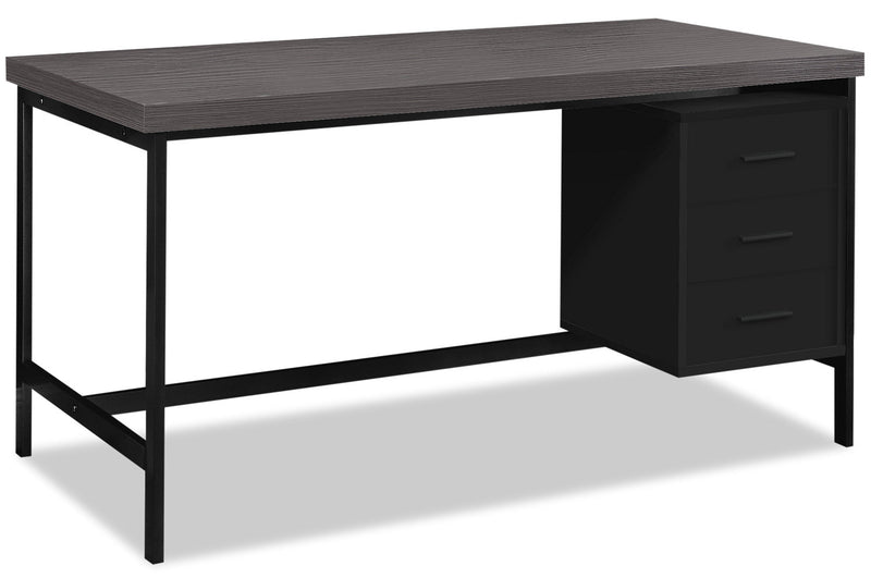 "Orion 60"" Computer Desk with Three Drawers