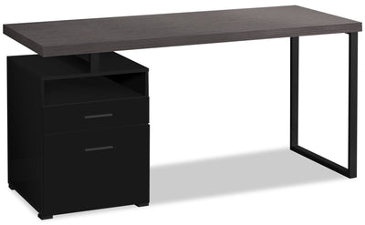 "Orion 60"" Computer Desk with Two Drawers"