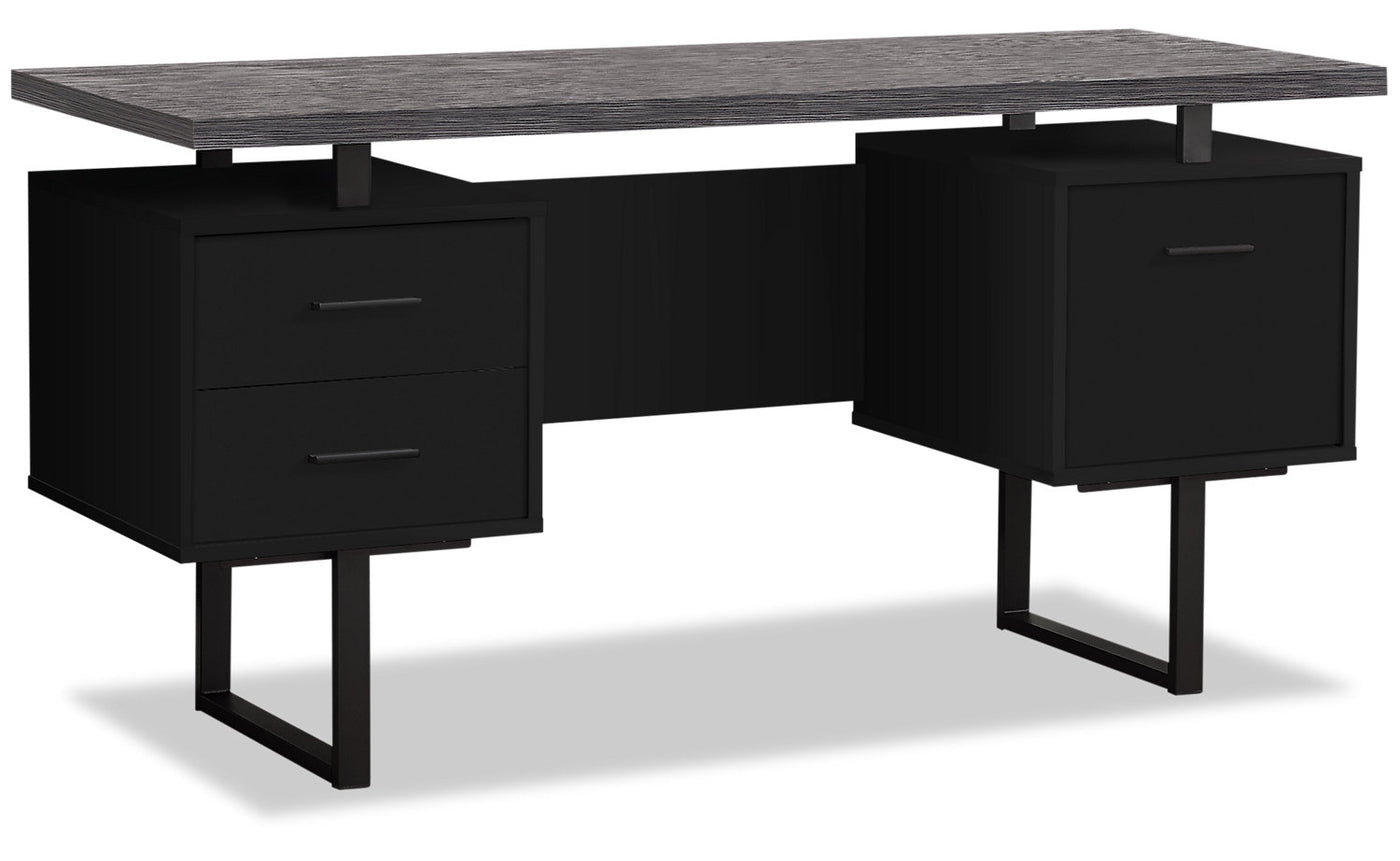 Picture of: Orion 60 Computer Desk With File Drawer The Brick