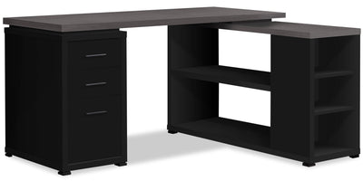 Orion Corner Desk|Bureau en coin Orion|ORICRDSK