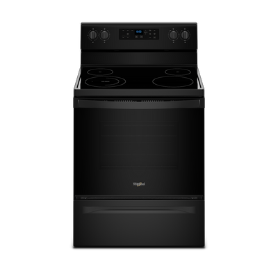 Whirlpool 5.3 Cu. Ft. Freestanding Electric Range - YWFE510S0HB|Cuisinière électrique amovible Whirlpool de 5,3 pi³ – YWFE510S0HB|YWFE510B