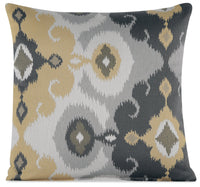 Designed2B Fabric Accent Pillow - Butter