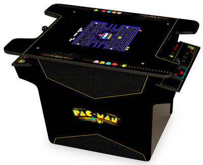 Arcade1Up Pac Man™ Head-to-Head Arcade Table|Borne de table Arcade1Up Pac ManMD|PACMANH2