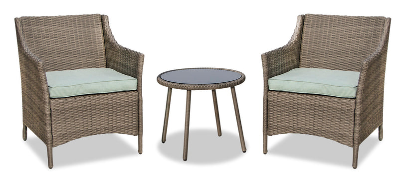 Palm 3-Piece Patio Conversation Set|Ensemble de conversation Palm 3 pièces pour la terrasse