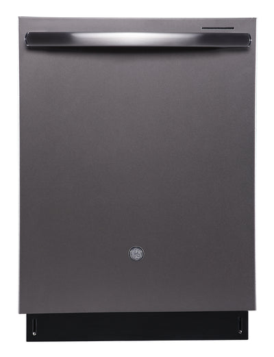 GE Profile Built-In Tall Tub Dishwasher with Stainless Steel Tub - PBT650SMLES - Dishwasher in Grey