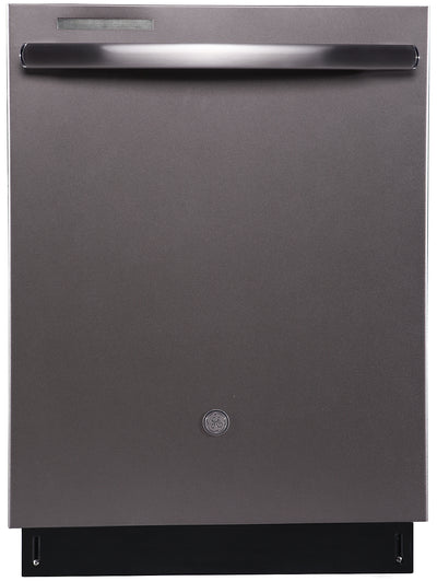 GE Built-In Dishwasher with Stainless Steel Tub - PBT860SMMES - Dishwasher in Slate