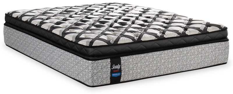 Sealy Posturepedic Proback Pacific Edge Euro Pillowtop King Mattress|Matelas à Euro-plateau épais Pacific Edge PosturepedicMD PROBACKMD de Sealy pour très grand lit