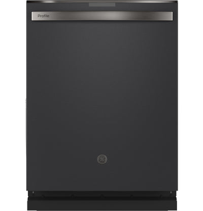 GE Profile Top-Control Dishwasher with Full Third Rack - PDT715SFNDS - Dishwasher in Black Slate