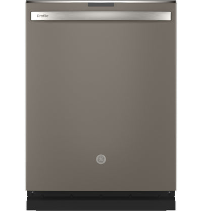 GE Profile Top-Control Dishwasher with Full Third Rack - PDT715SMNES - Dishwasher in Slate