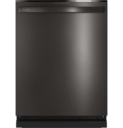 GE Profile Top-Control Dishwasher with Full Third Rack - PDT715SBNTS - Dishwasher in Black Stainless Steel