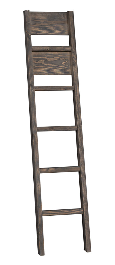 Piper Bunkbed Ladder - {Rustic} style Ladder in Driftwood grey {Pine}