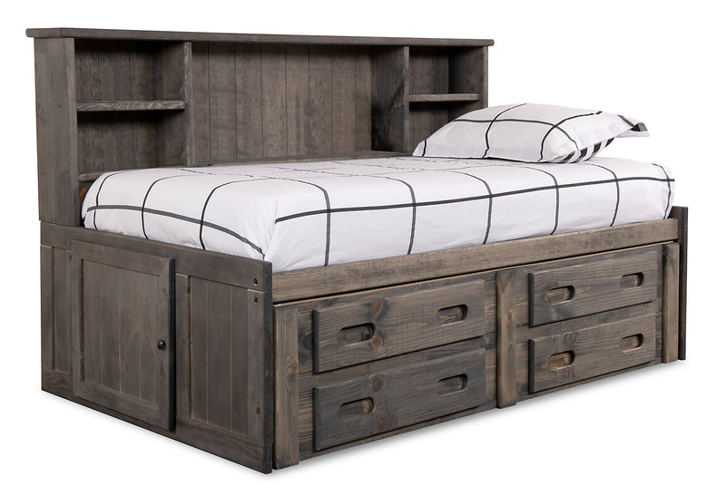 Piper Full Storage Bed|Lit double de rangement Piper|PIPGFRBD
