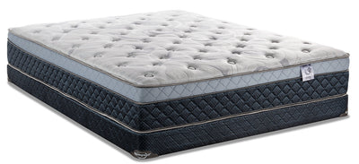 Springwall Pisa Eurotop Low-Profile Twin Mattress Set