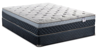 Springwall Pisa Eurotop Queen Mattress Set