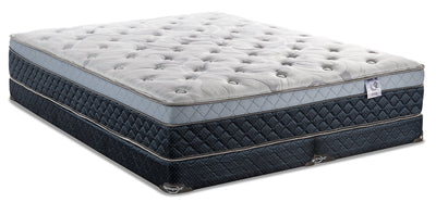 Springwall Pisa Eurotop Low-Profile Split Queen Mattress Set