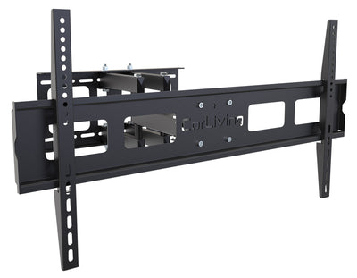 "Corliving Distribution Ltd. Wall Mount - CorLiving Adjustable 37"" - 70""  Full Motion Flat Panel TV Wall Mount – Black"