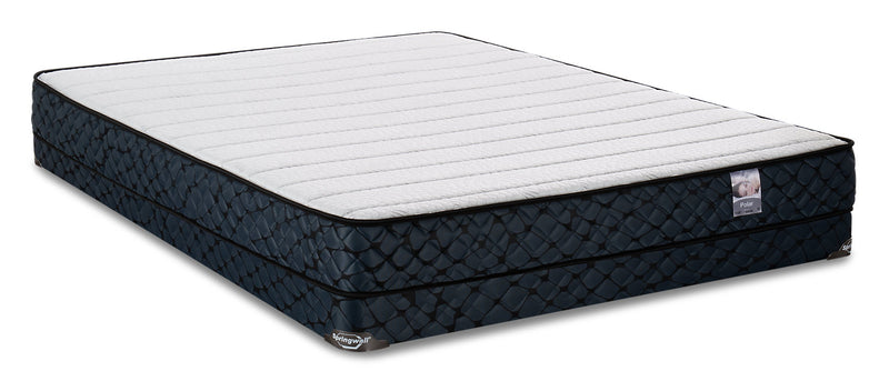 Springwall Polar Low-Profile Full Mattress Set|Ensemble matelas à profil bas Polar de Springwall pour lit double