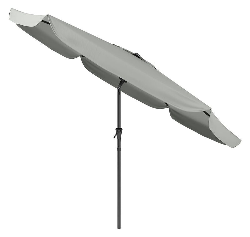 Tilting-Top Patio Umbrella – Sand Grey|Parasol à dessus inclinable pour la terrasse - gris sable