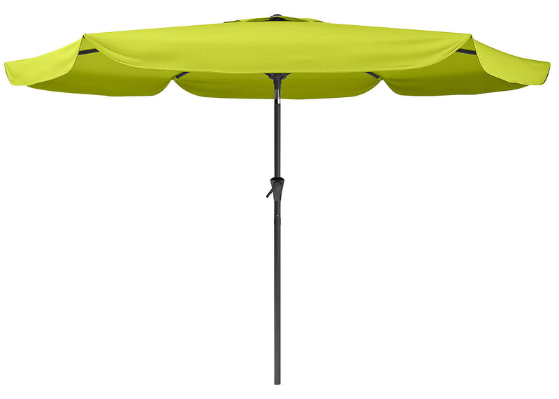 Tilting-Top Patio Umbrella – Lime Green|Parasol à dessus inclinable pour la terrasse - vert lime