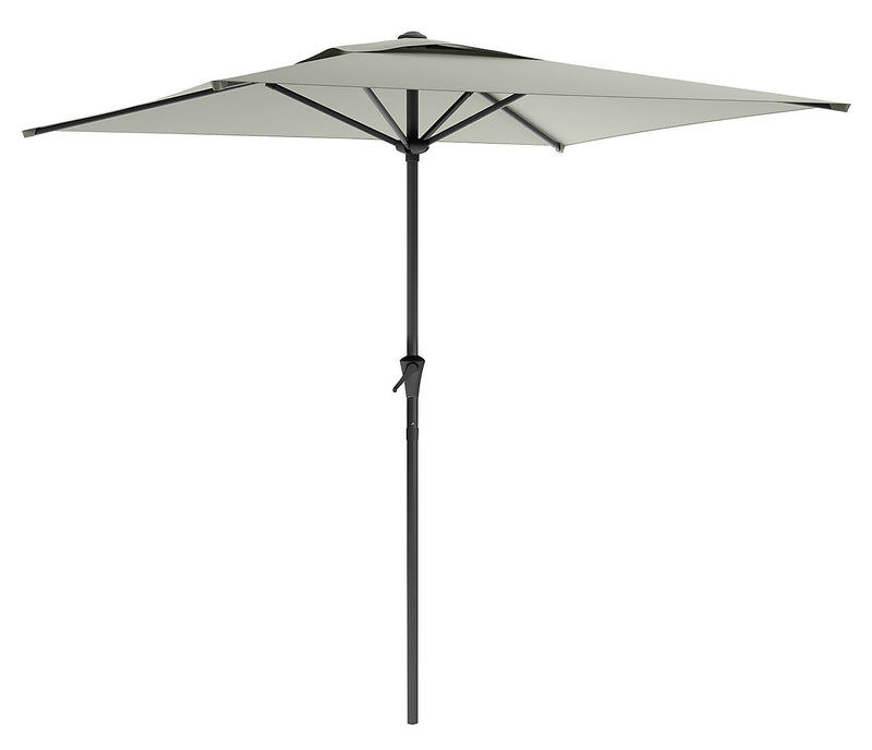 Square Patio Umbrella – Sandy Grey|Parasol carré pour la terrasse - gris sablonneux