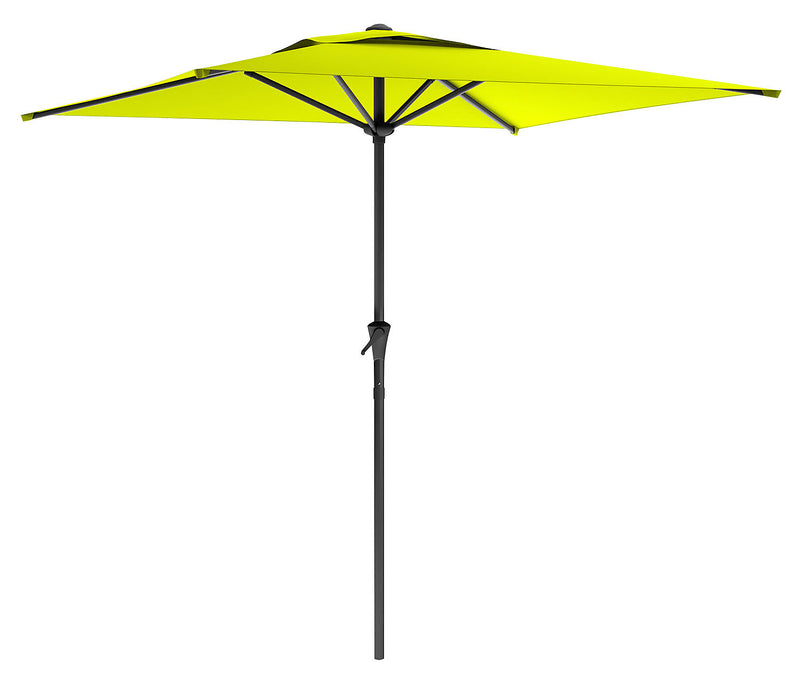 Square Patio Umbrella – Lime Green|Parasol carré pour la terrasse - vert lime