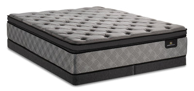 Serta Perfect Sleeper Canada's Anniversary Free Pillowtop Low-Profile Split Queen Mattress Set|Ensemble à plateau-coussin divisé à profil bas Free Canada's Anniversary de Serta pour grand lit|PSFRLSQP